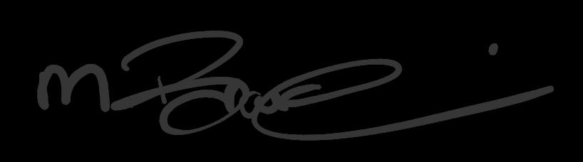 Mirjam Brauchli, Unterschrift, Mirjam Kosmetik